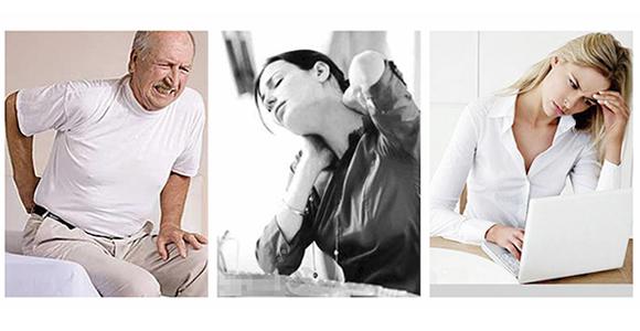 Leiden Sie unter Lenden- und Halsschmerzen oder Übermüdung