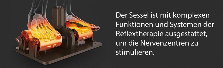 Komoder 4D Luxury Massagesessel