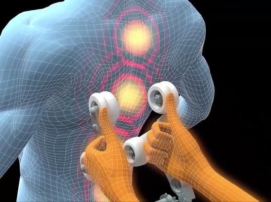 Heizsystem für Rücken Komoder Veleta Massagesessel